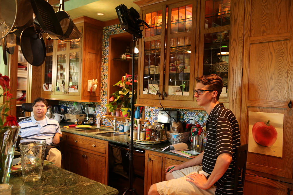 Gabe Weil and Director Luke Terrell