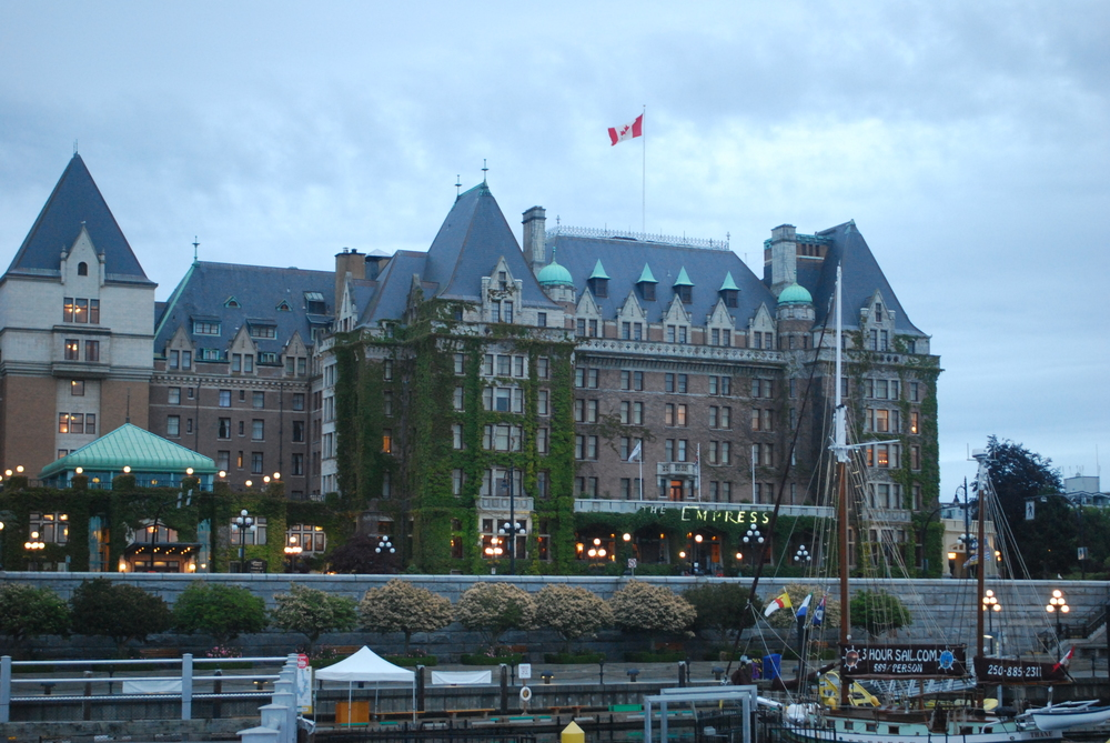 The Empress Hotel in Victoria, British Columbia. Not a bad place to talk brains, such as at the 2015 International Behavioral Neuroscience Society conference. From  this post .
