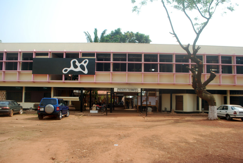 The Faculty of Sciences at the University of Bangui. I got to have some interesting, if brief chats with some biology and anthropology professors here.