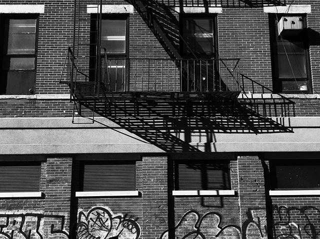 NYC 40 — Escape  #obscura #obscuraapp #blackandwhite #newyork