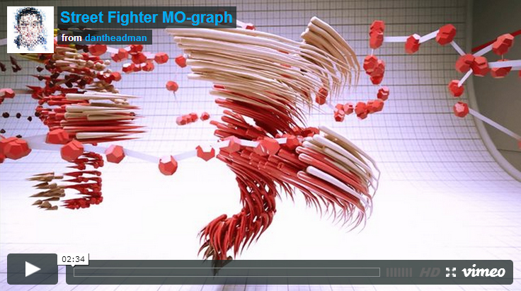 Street Fighter Mo-graph