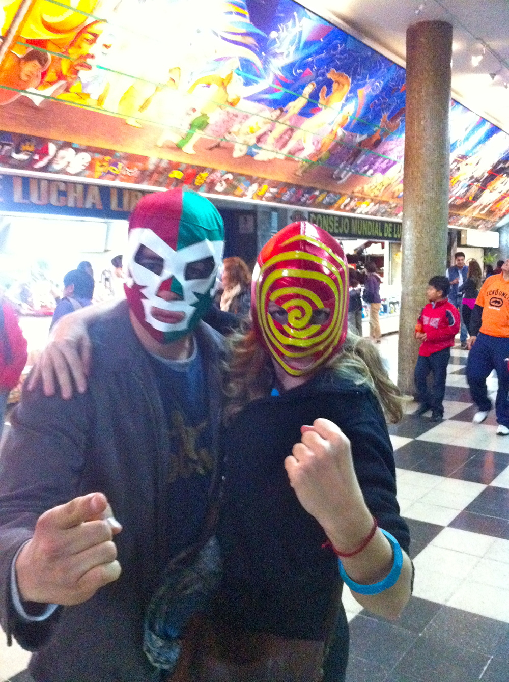 Me and my partner at the Lucha Libre.jpg