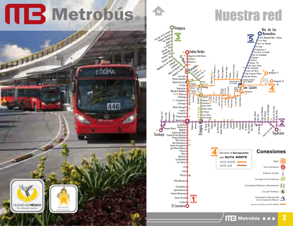 Want to download Mexico City's Metro Bus Brochure?