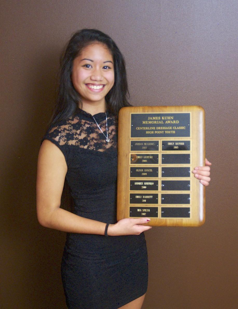 2013's Jim Kuhn Award Recipient Emily Raynor -
