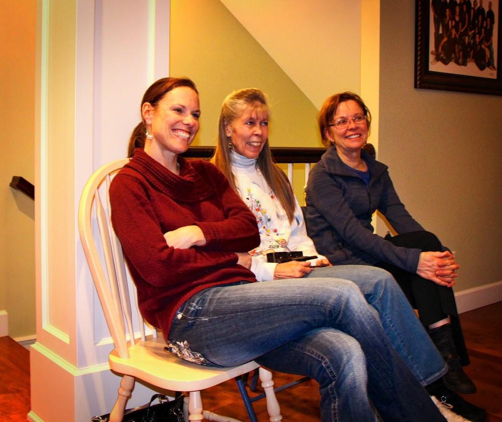 Rachel Boyce, Leslie Burket, & Teri Zeal