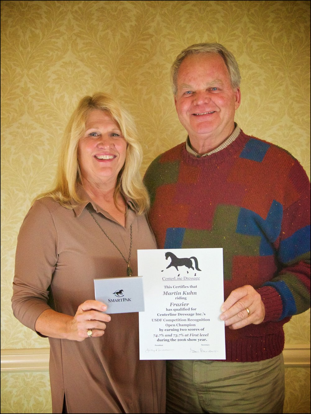 Training Level Open Champion Owners Joe & Jodi Lemkemann