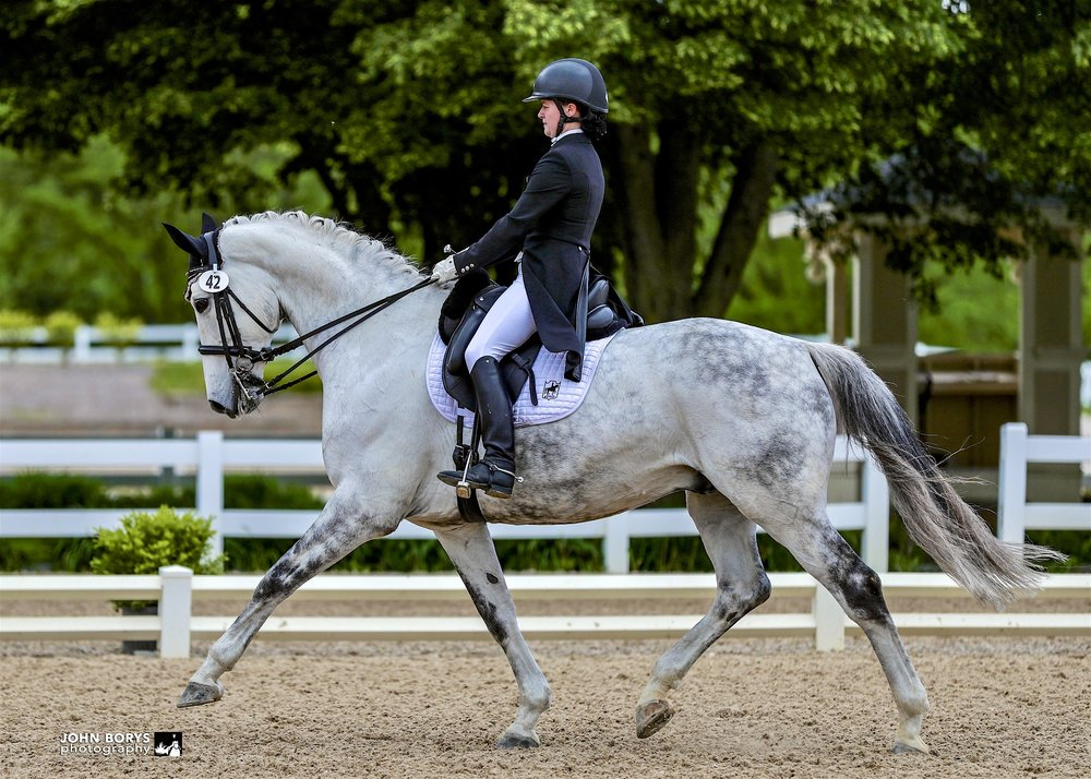 CLD's own Jenna Upchurch & Greystoke are the #1 pair going into the NAYRC