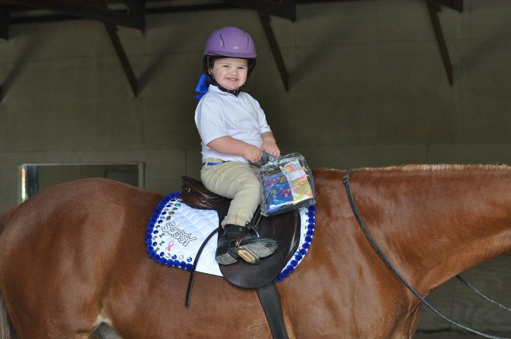 Best Bling Saddlepad Winner: Sophia McCauley