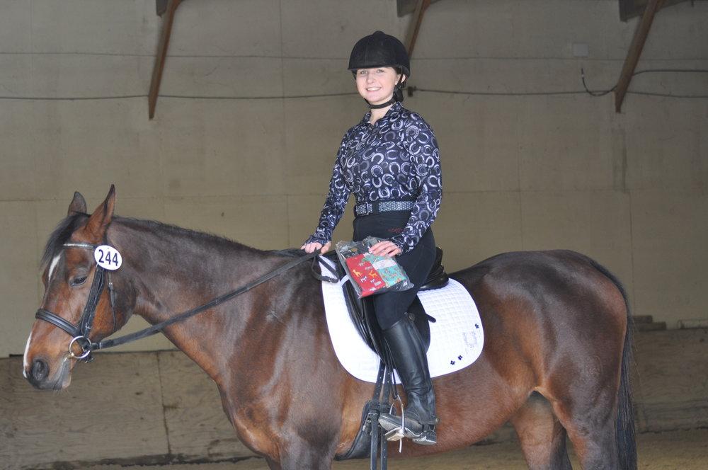 Best Bling Saddlepad Winner: Ellie Mendenhall