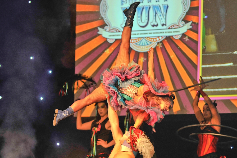 FUNHOUSE - Journey into a fantastic world of cirque-pop-dance-acro like no other. Funhouse combines the unique music from Cirque du Soleil with pop and rock.