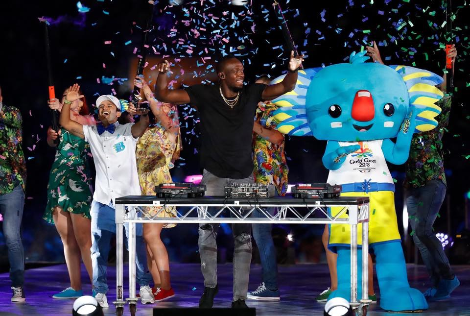 Sid, Borobi & Usain (Closing Ceremony GC2018).JPG
