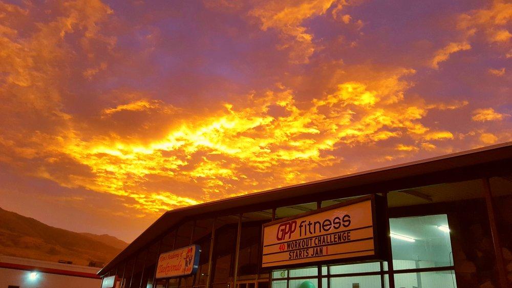 Super cool sunrise over GPP this morn!