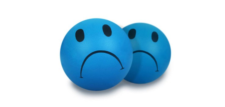 Sad because their blue!