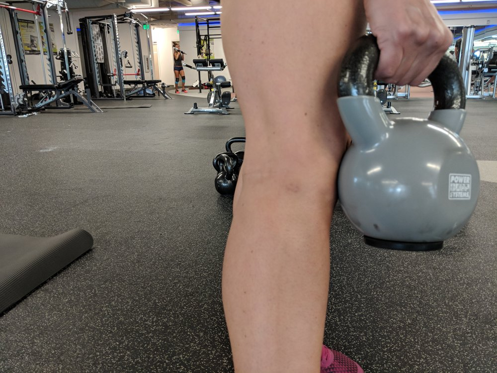 That little tiny bruise is the reason we warn folks to keep their legs together during tic tocks.