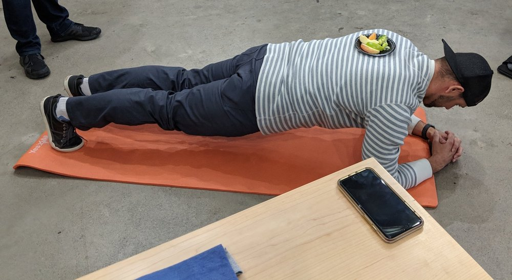Weighted planks at  Venafi .