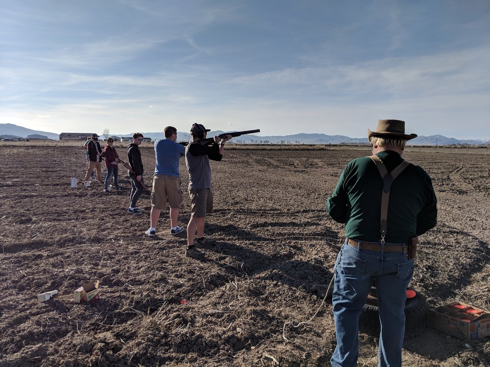 It's skeet season in Tremonton, UT.