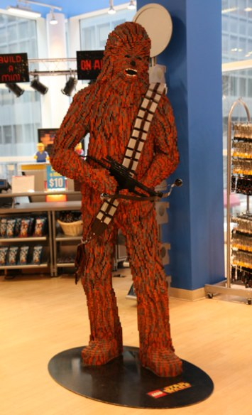 Incredible Lego Artwork from NYC's FAO Schwartz