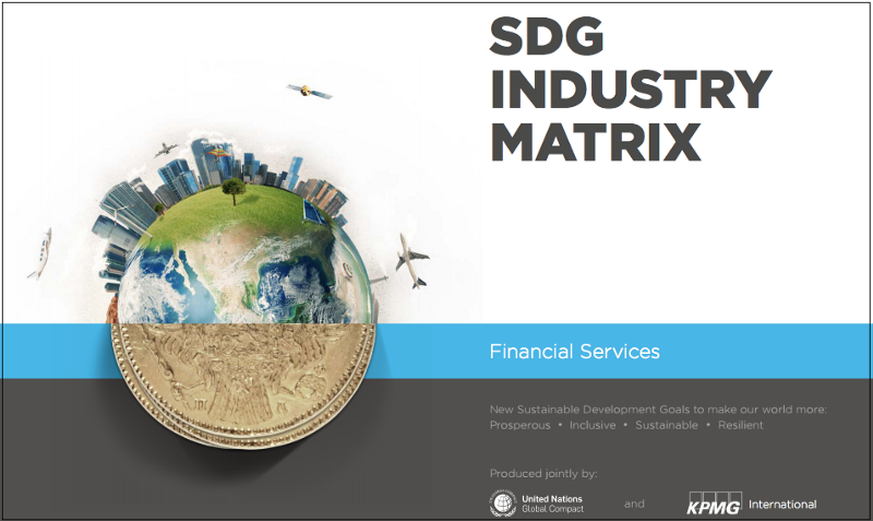 The SDG Matrix for Financial Services