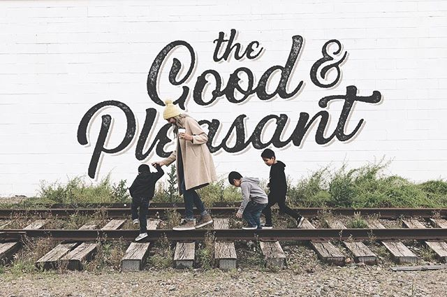 My amazing and talented wife Nancy just launched her new website, @thegoodandpleasant. I am so proud of her and all the hard work she has put into this project and I love her heart/passion behind it. Her goal is to inspire creativity and community by having a place where women can share their stories, recipes and ideas with one another. Go show her page some love @thegoodandpleasant