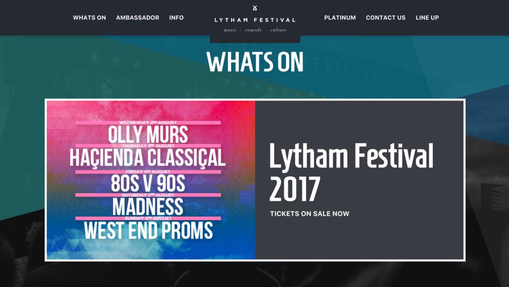Lytham Proms 2017