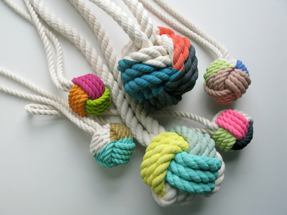 Hand-Painted Monkeys Fist Knots 2.JPG