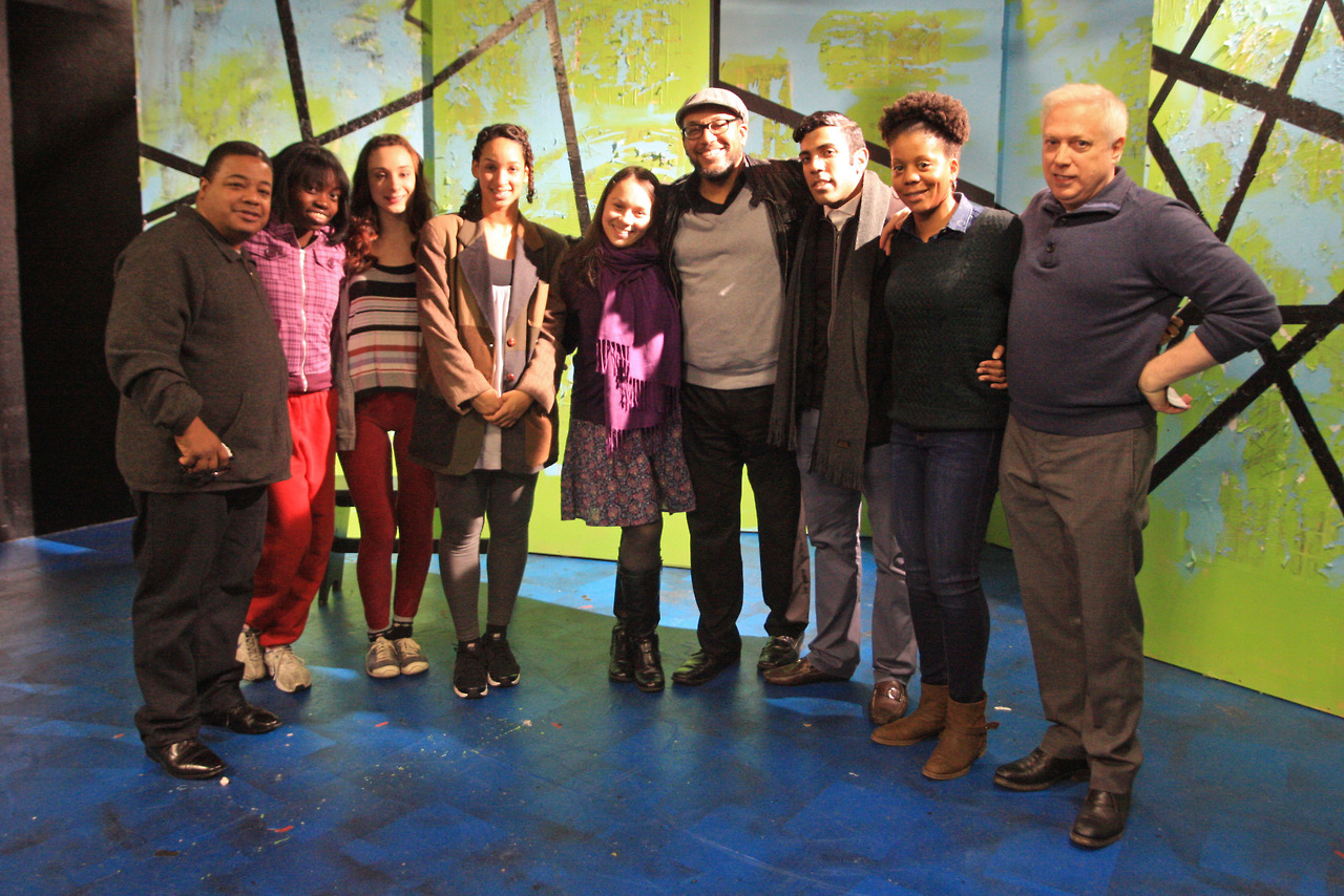 The hardworking folks of Chelsea Repertory Theatre's eMerging Artists 1-Act Play Festival.Photo by Christa Tandana