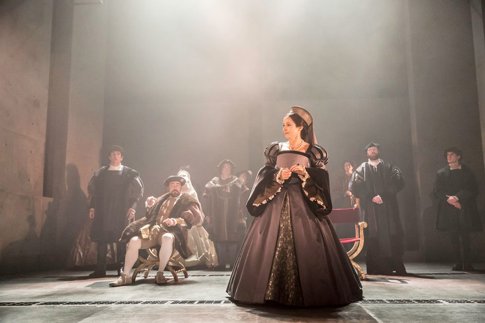 Lydia Leonard in  Wolf Hall .   Photo by Johan Persson