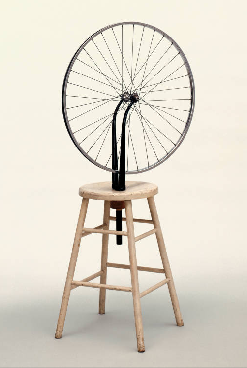 "Duchamp's ""Bicycle Wheel"""
