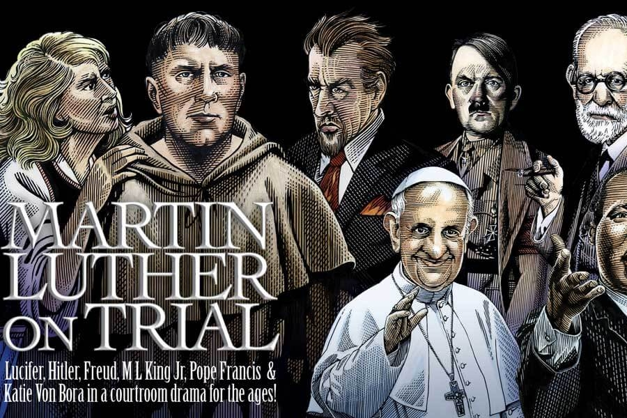 POST: 'Martin Luther on Trial' - Are we reading the same book, dude? — PXP