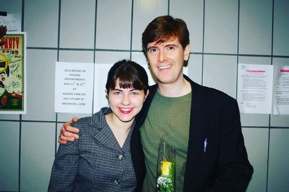 Me and Laurence O'Keefe post-show in 2012