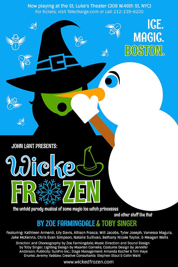 wicked frozen tickets, off-broadway tickets, discount tickets