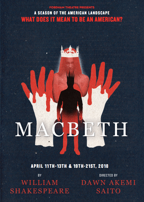 macbeth college show, fordham university shows, shakespeare college show