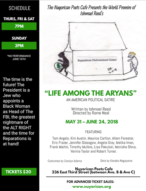 life among the aryans discount, life among the aryans tickets, nuyorican poets cafe