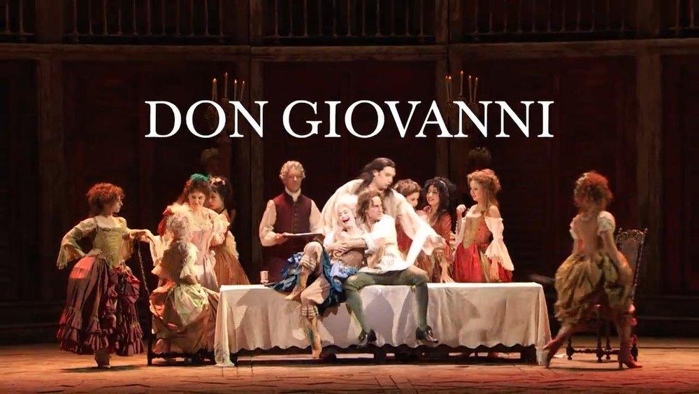 don giovanni, mozart opera, met opera