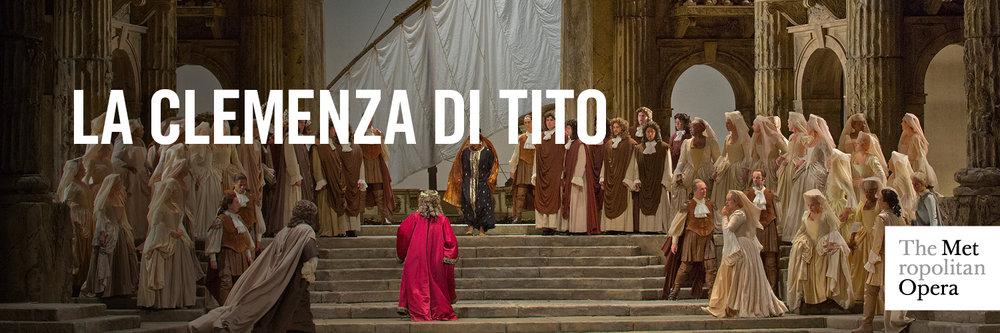 la clemenza di tito, clemenza met opera, clemenza discount