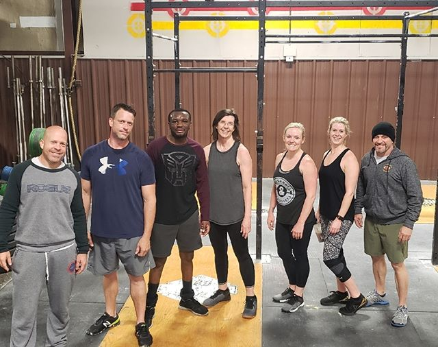 5:30 Crew put in the work this morning!  Are you going to?  #crossfit #consistency #health #crossfitsweetwater  #motivation  #fitnessjourney #progress #alwayspush #bethe1