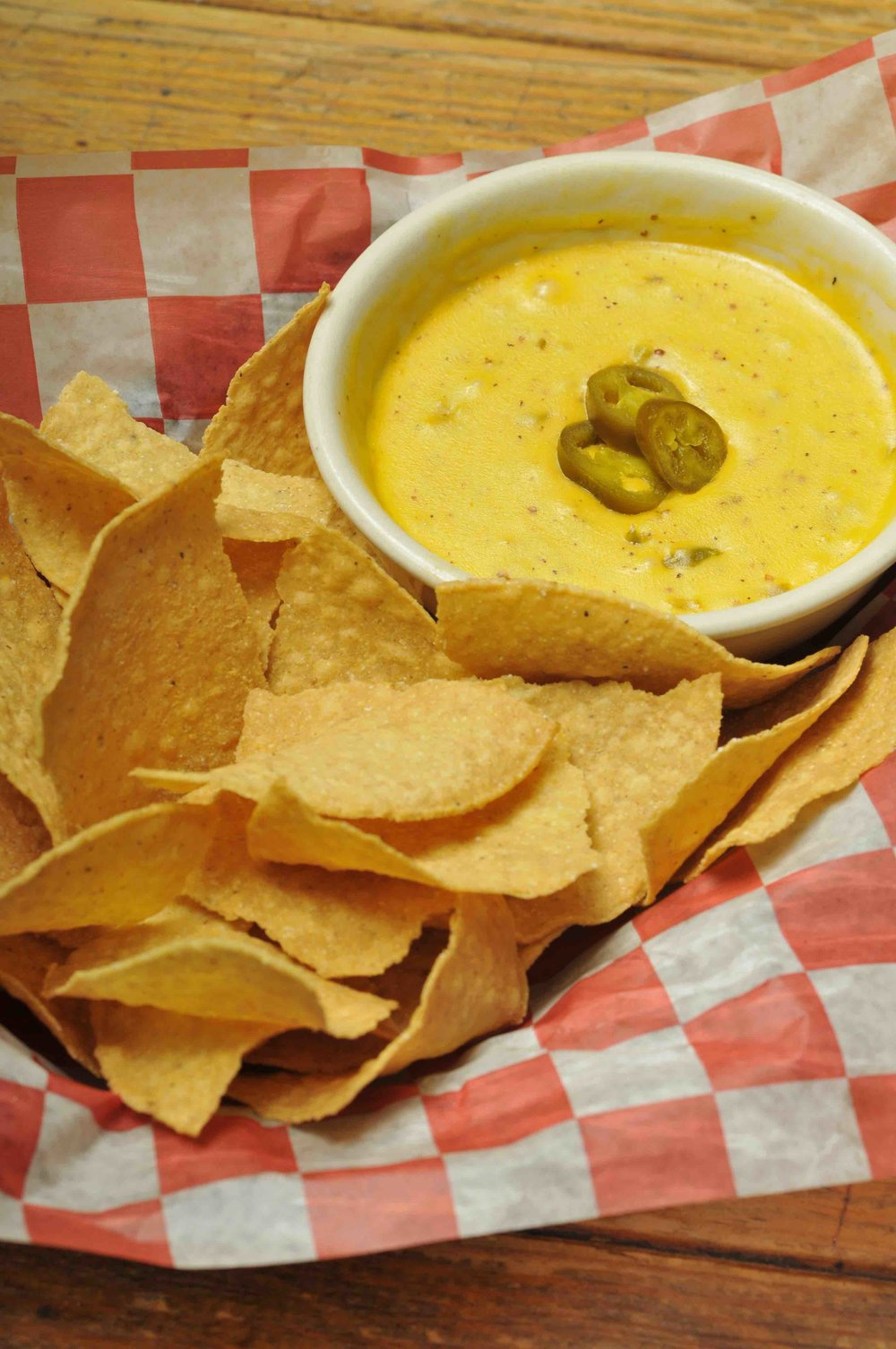 Corn Chips with Jalapeño-Pimento Cheese