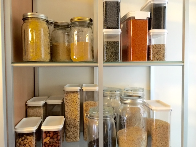 PANTRY & KITCHEN REORGANIZATION