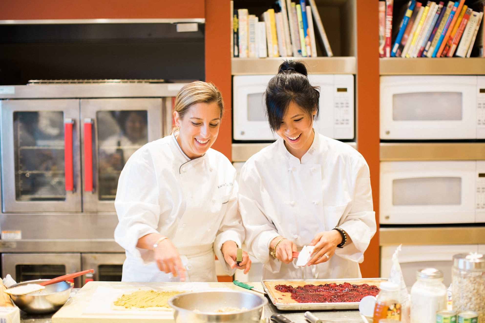 With Pastry Chef Karen DeMasco