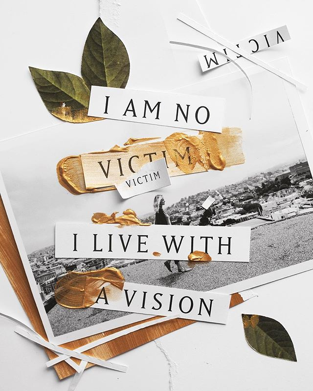 """I am no victim. I live with a vision.""--Here's another collage for @kristenedimarco 's new album! This quote is from one of my favorite songs ;) More to come!"