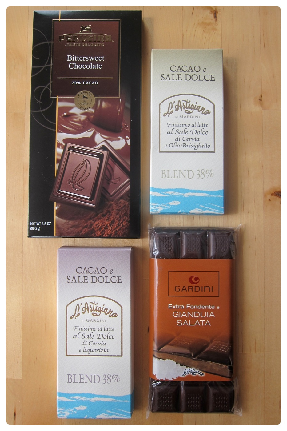 Chocolates from Salumeria Italiana in the North End