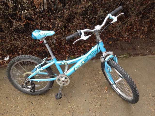 "Trek (just like Lance Armstrong)  20"".   $50"