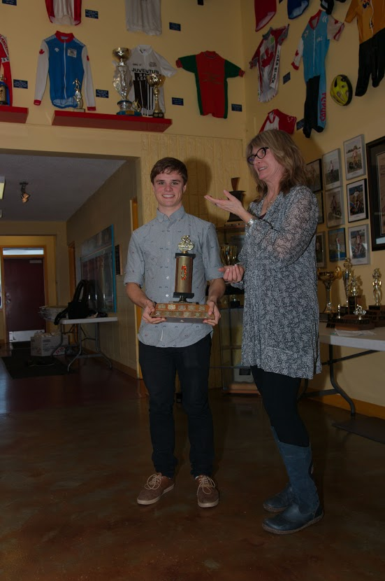 Evan Burtnik - Track Cyclist of the Year 2014
