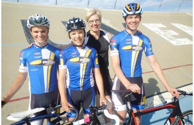 Evan Burtnik, Anna Talman, 2004Olympic gold medalist Lori-AnnMuenzer, Stefan Ritter