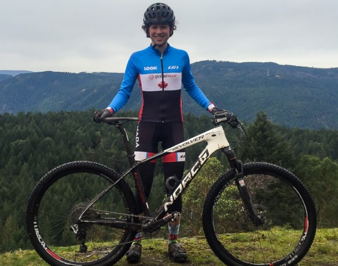 Sidney McGill - Cycling Canada NextGen Mountain Bike Team