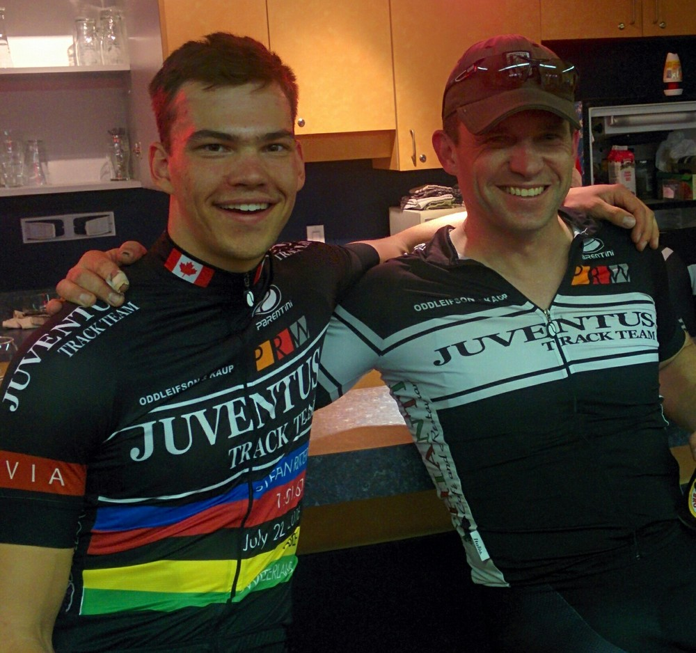 Stefan and Jeff Bakal - a guy who knows a thing or two about developing elite cyclists.