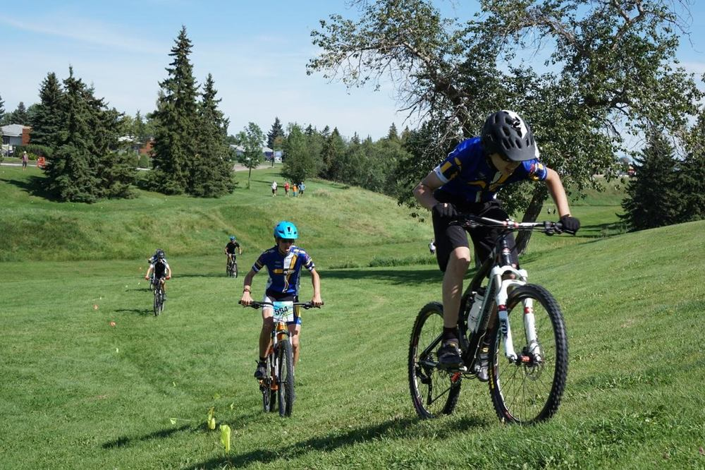 Argyll Ravine course challenges LAMP Cup racer's cross country mtn bike skills - photo credit Lori-Ann Muenzer