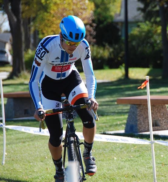 Lukas Adomonis gets in a little off road season CX racing.
