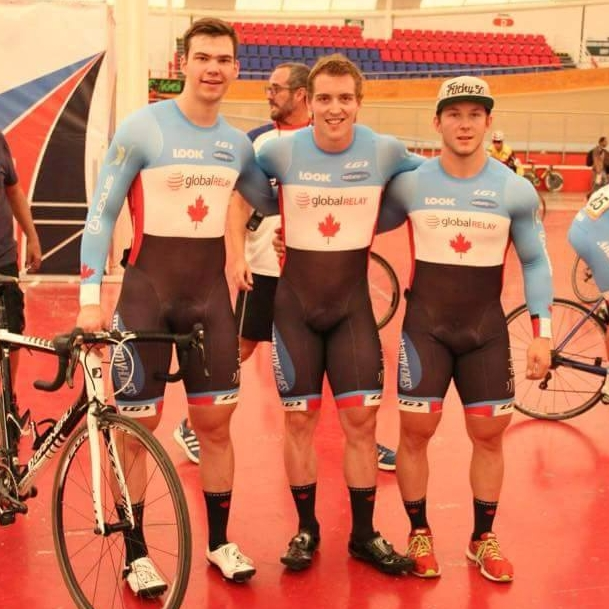 Team Sprint - Stefan Ritter, Joel Archambault, Patrice St Louis Povin