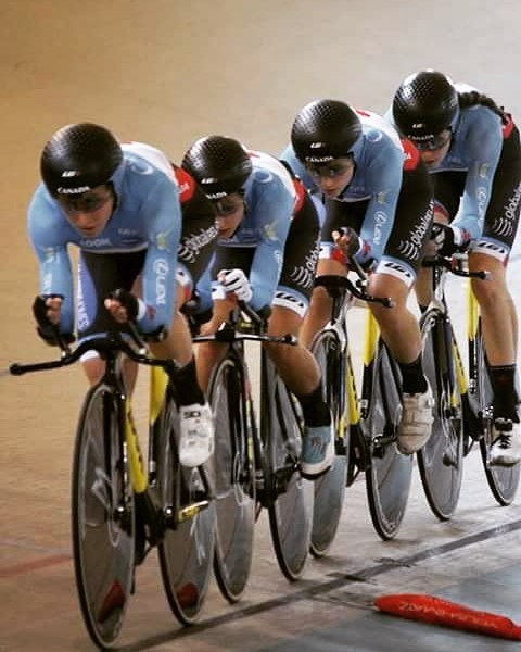 Team Pursuit at Pan Ams - smooth and fast -